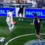 Argentina, Lavezzi e Maxi Lopez ospiti di uno show televisivo… giocano a calcetto! – Video