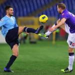 Roma-Lazio, dopo le contestazioni gli applausi: Candreva incitato dai tifosi biancazzurri, magie del derby!