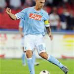 """Napoli-Roma, Cannavaro scrive a Borriello: """"Venite a perdere!"""""""
