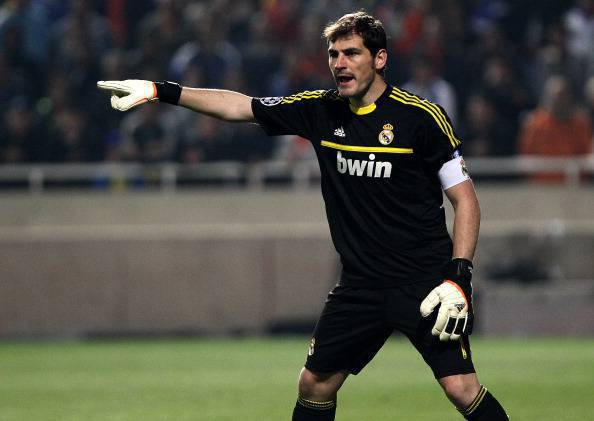 Real Madrid's Spanish goalkeeper Iker Ca