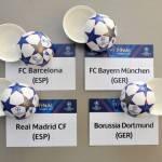 Champions League, ecco le semifinali: Bayern Monaco-Barcellona, Borussia Dortmund-Real
