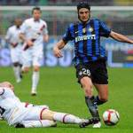 """Bari-Inter, Mediaset lancia la proposta: """"Pugno di Chivu? Prova tv con valore immediato!"""""""