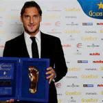 Ultim'ora, Roma: importante premio per Totti