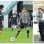 Juventus, si infortuna… Conte! Botta alla caviglia durante lo Juventus Day