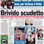 Corriere dello Sport: Brivido scudetto