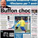 Corriere dello Sport: Buffon choc
