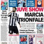 Corriere dello Sport: Juve show, marcia trionfale