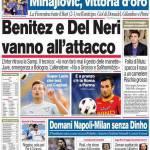 Corriere dello Sport: Benitez e Del Neri vanno all'attacco