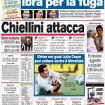Corriere dello Sport: Chiellini attacca