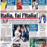 Corriere dello Sport: Italia, fai l'Italia!