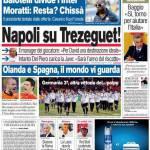 Corriere dello Sport: Napoli su Trezeguet!