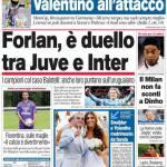 Corriere dello Sport: Forlan, è duello tra Juve e Inter