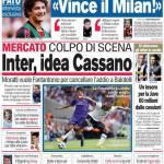 Corriere dello Sport: Inter, idea Cassano