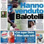 Corriere dello Sport: Hanno venduto Balotelli!
