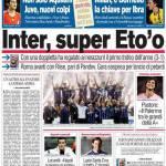 Corriere dello Sport: Inter, super Eto'o!