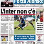Corriere dello Sport: L'Inter non c'è