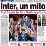 Corriere dello Sport: Inter, un mito