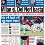 Corriere dello Sport: Milan sì, Del Neri basta!
