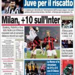 Corriere dello Sport: Milan, +10 sull'Inter
