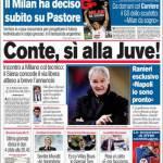 Corriere dello Sport: Conte, sì alla Juve!