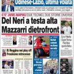 Corriere dello Sport, Delneri a testa alta; Mazzarri dietrofront