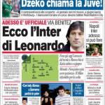 Corriere dello Sport: Ecco l'Inter di Leonardo