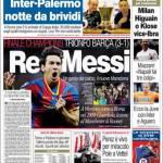 Corriere dello Sport: Re Messi