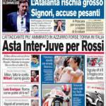 Corriere dello Sport: Asta Juve-Inter per Rossi