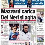 Corriere dello Sport: Mazzarri Carica, Delneri si Agita