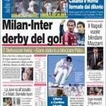 Corriere dello Sport: Milan-Inter derby del gol