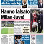 Corriere dello Sport, Hanno falsato Milan-Juve!