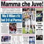 Corriere dello Sport: Mamma che Juve!