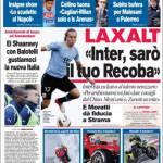 Corriere dello Sport, Laxalt: Inter, sarò il tuo Recoba