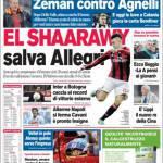 Corriere dello Sport: El Shaarawy salva Allegri