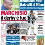 Corriere dello Sport: Marchisio il derby è tuo