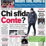 Corriere dello Sport: chi sfida Conte?