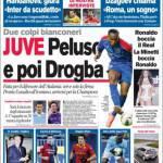 Corriere dello Sport: Juve, Peluso e poi Drogba