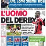 Corriere dello Sport: L'uomo del derby