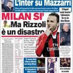 Corriere dello Sport: Milan sì ma Rizzoli è un disastro