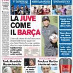Corriere dello Sport: La Juve come il Barca