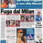 Corriere dello Sport: Fuga dal Milan