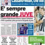 Corriere dello Sport: E' sempre grande Juve