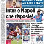 Corriere dello Sport: Inter e Napoli che risposte!