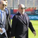 Calciomercato Napoli, De Laurentiis: Hamsik e Cavani resteranno con noi