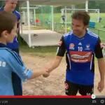Video – Incredibile incontro in Australia: un bambino di nome Alessandro Del Piero Pascuzzi incontra il vero Del Piero!