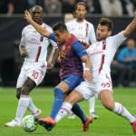 Milan-Barcellona 0-0, tutto rimandato a martedì prossimo