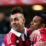 Calciomercato Milan, El Shaarawy Robinho: che dualismo tra il brasiliano e il Faraone!