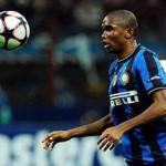 Inter-Lecce, Eto'o e Pazzini col freno a mano tirato: sono a rischio diffida