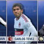 """Foto – Higuain alla Juve, Tevez al Milan, Nainggolan all'Inter e… """"anticipiamo"""" gli acquisti delle big"""
