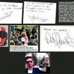 Funerali Simoncelli, le foto più toccanti: il messaggio di Rossi, il tatoo di Pasini, il casco di Trulli